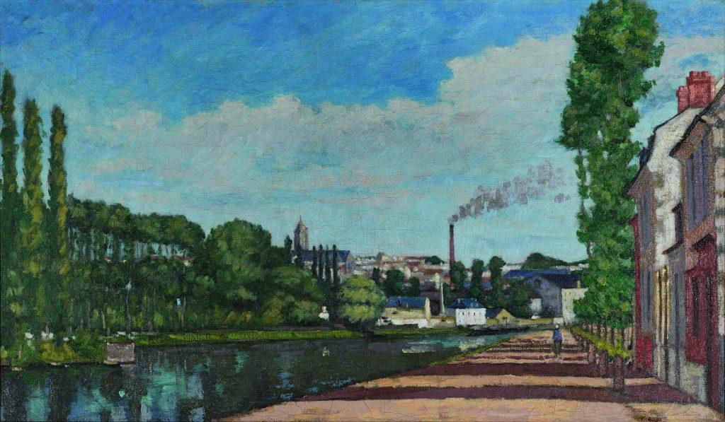 Le Mois de l'Impressionnisme, Béliard, Pontoise vue depuis l'écluse
